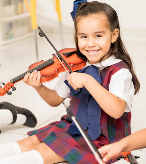 Big Fish: Violin Class