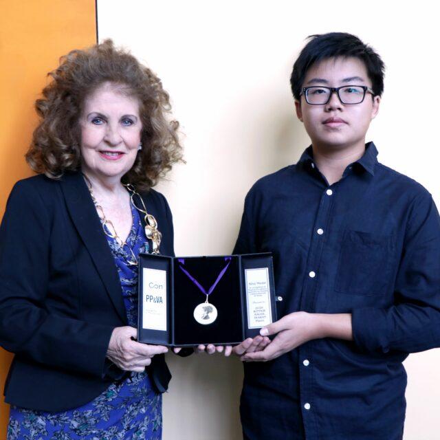 2020 Silvy Medal Recipient